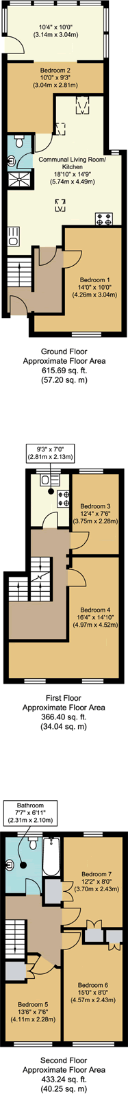 Floorplans - 21 Dollis Drive