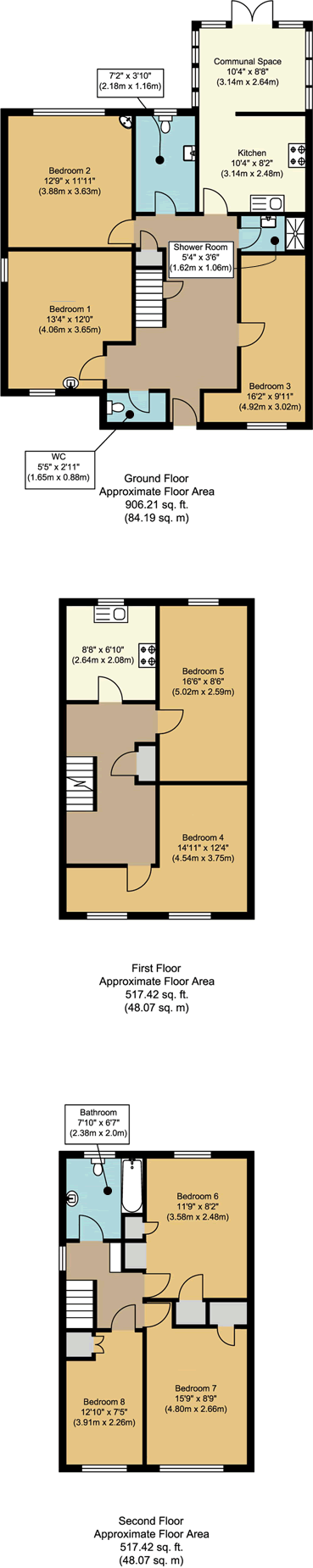 Floorplans - 1 Dollis Drive