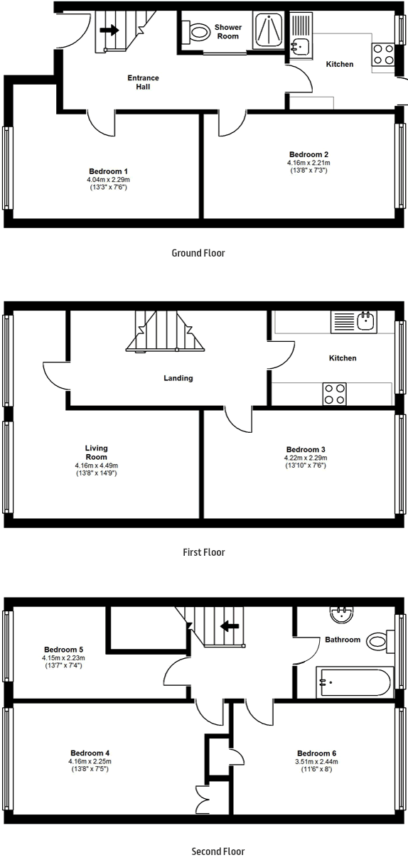 Floorplans - 17 Dollis Drive