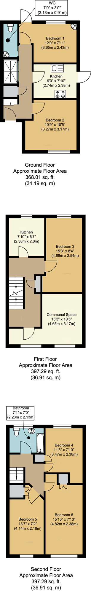 Floorplans - 18 Dollis Drive