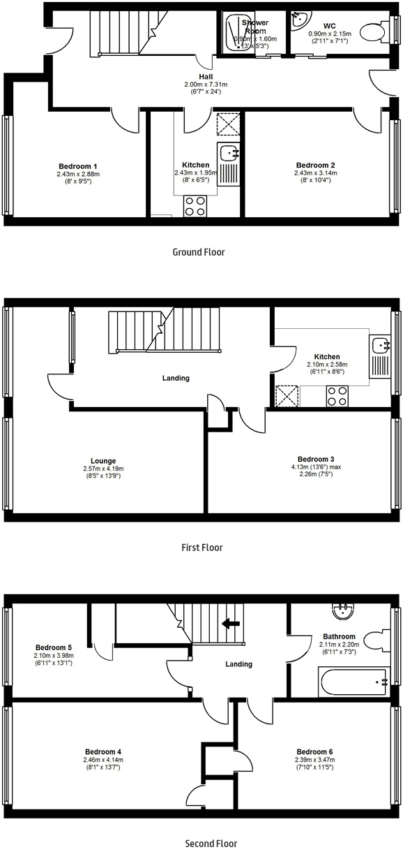 Floorplans - 20 Dollis Drive