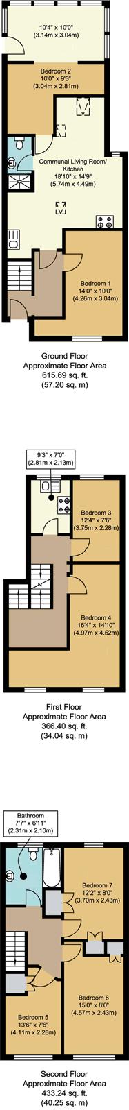 Floorplans - 21 Dollis Drive