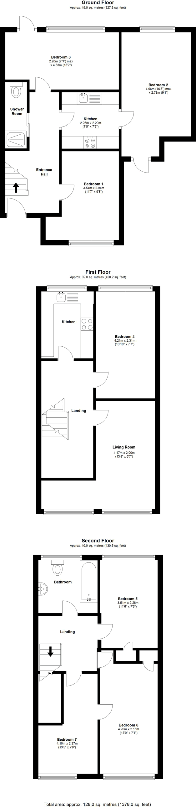 Floorplans - 22 Dollis Drive